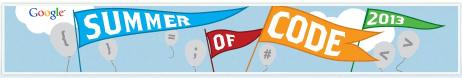 GSoC 2013 Banner