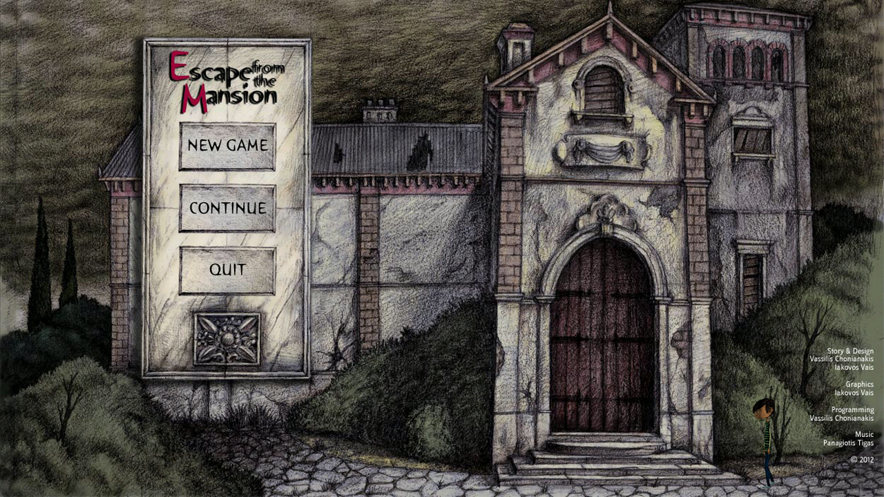 Escape from the Mansion (1.3/Windows/English)